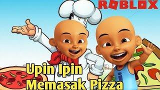 Cooking Pizza-Roblox Upin Ipin