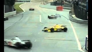Spa 2000 - Michael Schumacher ohittaa Buttonin ja Trullin