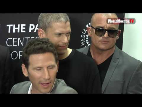 Wentworth Miller,  Dominic Purcell, Robert Knepper and others 'Prison Break' Season 5 Premiere