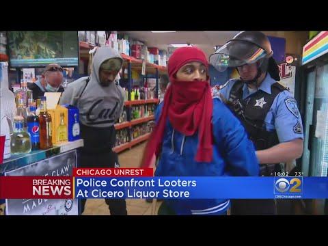 Cicero Looting Suspects Caught Hiding In Liquor Store