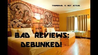 "Mount Olympus ""Hotel Rome"" Room Review - Bad Reviews Debunked!"
