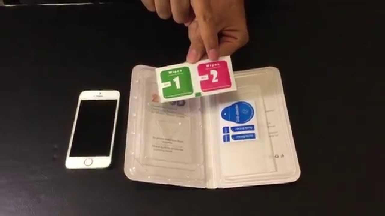 efb02137639 Cómo colocar mica de CRISTAL TEMPLADO para iPhone: PASO A PASO (Sin  burbujas) - YouTube