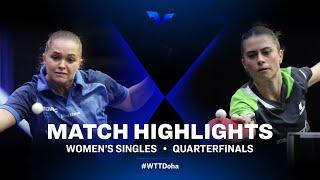 Margaryta Pesotska vs Bruna Takahashi   WTT Star Contender Doha   Women's Singles   Quarterfinals