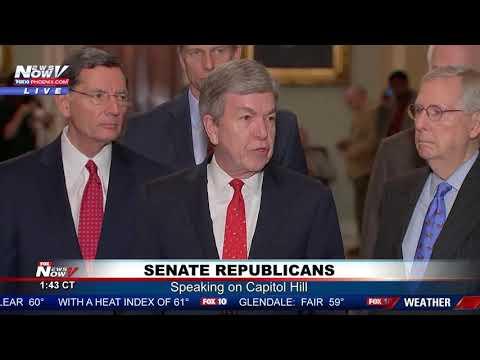 SENATE REPUBLICANS: Speak on Capitol Hill, Government Shutdown Still Possible (FNN)