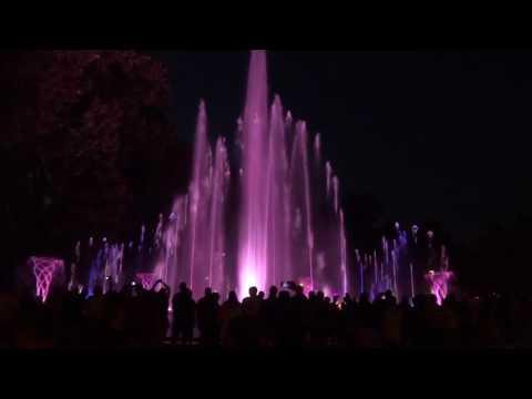 Большой светомузыкальный фонтан