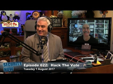 Security Now 622: Hack the Vote