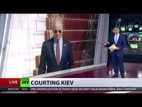 Where's Joe? US's VP Biden in Ukraine but it's head-scratcher for Americans