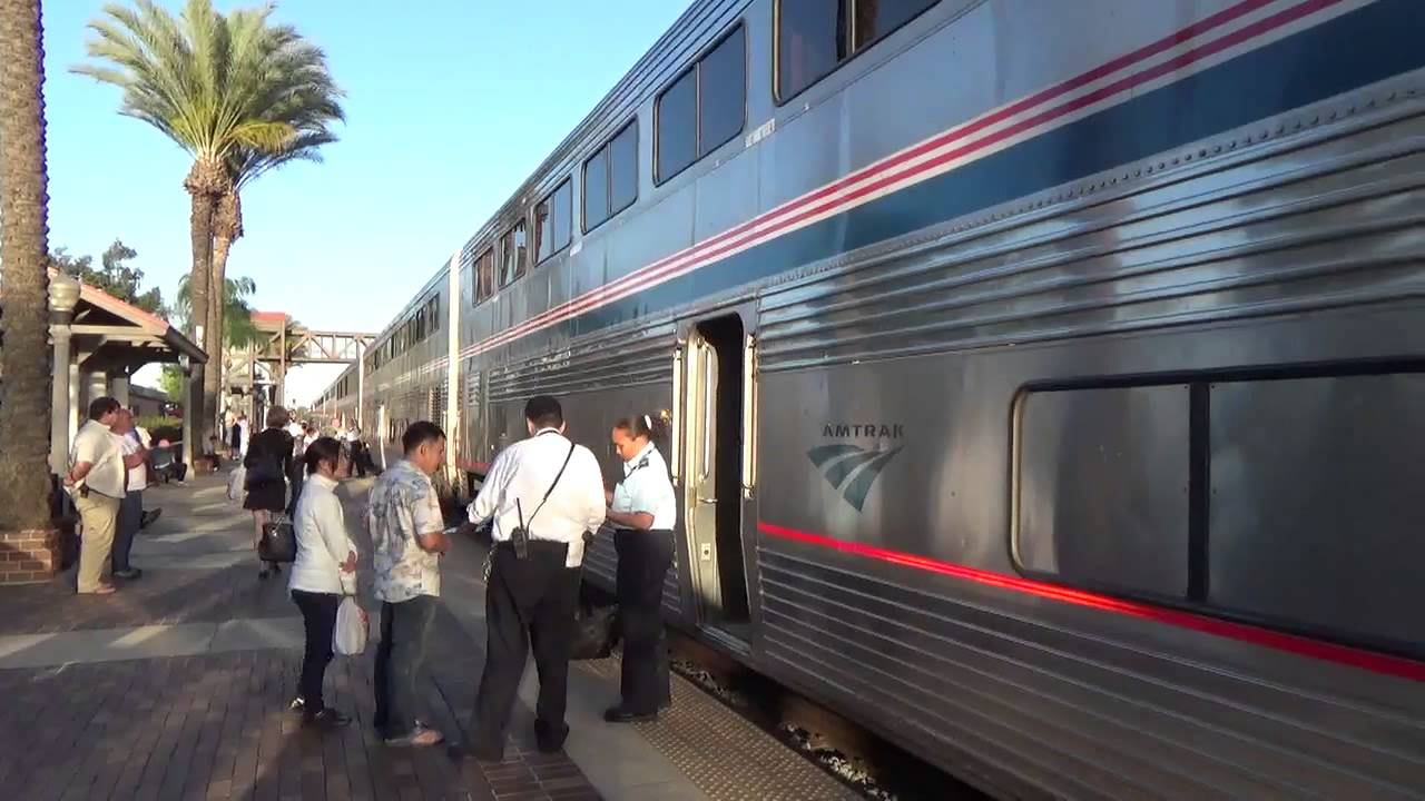 Fullerton - Amtrak Southwest Chief - Train Number 4
