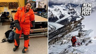 American woman climbed Mount Everest in just 14 days | New York Post