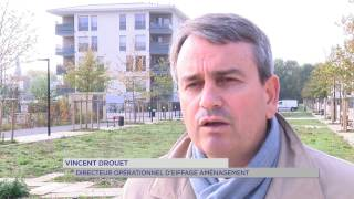 Guyancourt :  nouveaux aménagements pour le quartier du Pont du Routoir