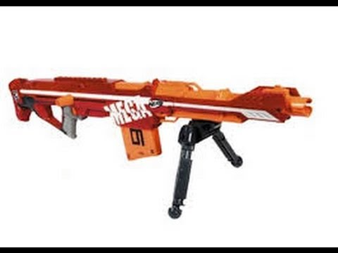 NERF MEGA Centurion Unboxing and Review - YouTube