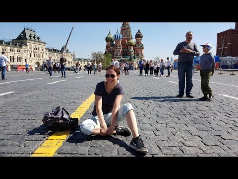 Steffi's Travel Vlog #7 - Moscow (Russia) - part 1