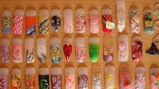 #140. Маникюр и типсы (супер видео)(Самая большая коллекция идей для дизайна ногтей. В коллекции представлены примеры работ по маникюру, педик..., 2014-10-17T22:55:45.000Z)
