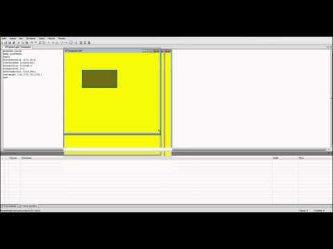 Как нарисовать прямоугольник в паскале