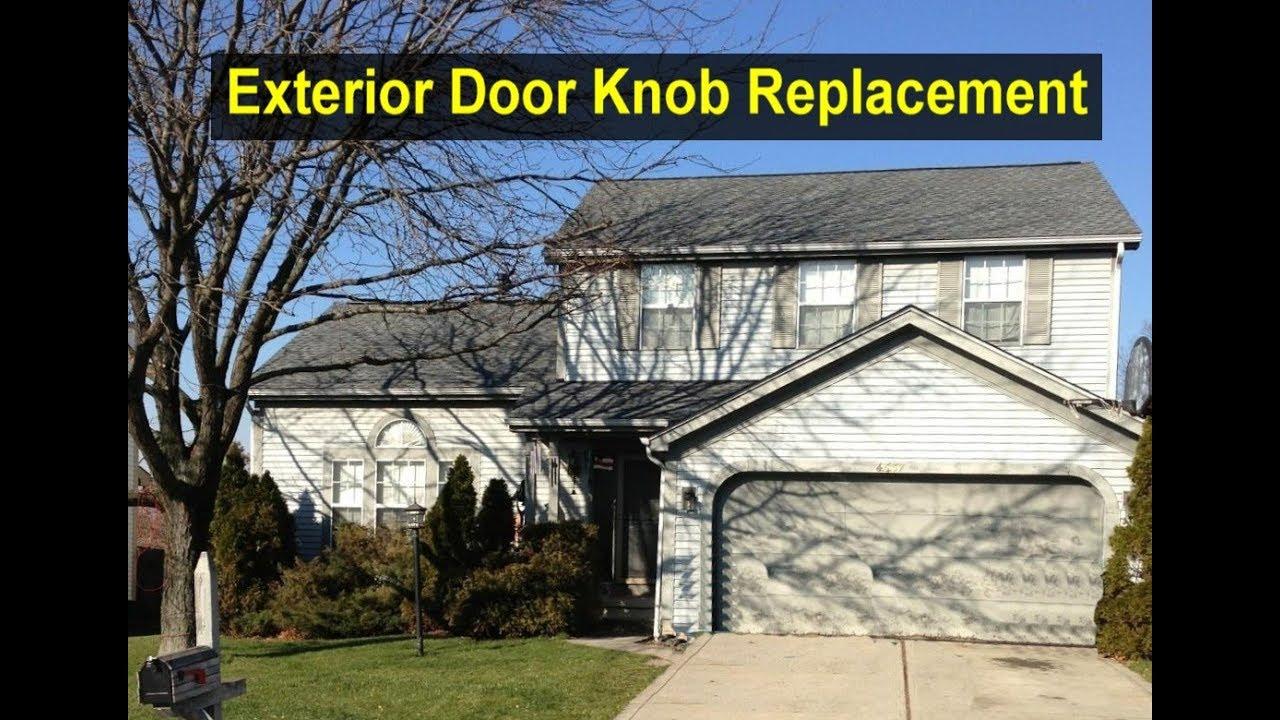 Replace a home door knob for exterior door - Home Repair Series ...