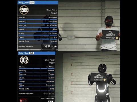 MODDED ACCOUNT SALE/GIVEAWAY PS4/PS3 ACCOUNT GTA V!!!