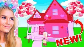 I Got The NEW VALENTINESDAY MANSION In Meep City! (Roblox)