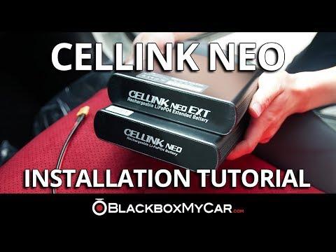 Cellink NEO Battery Pack Installation Tutorial - BlackboxMyCar