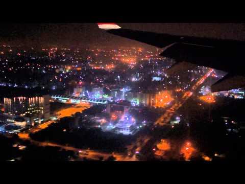 ✈ SWISS LX 146 Night Landing Delhi Indira Gandhi International Airport