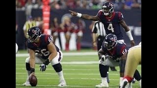 New Houston Texans O-Line Allowes 0 Sacks Again vs. 49ers | NFL Preseason Week 2