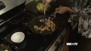 Moonshine Sauteed Apples Over Brie By Jan Matthews-hodges | Nc Now | Unc-tv