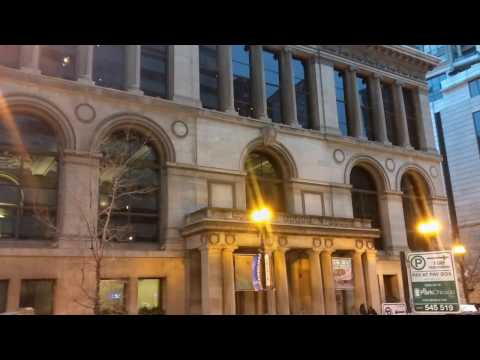 Chicago Cultural Center in 90 seconds
