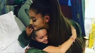 Ariana Grande back in Manchester ahead of her charity concert