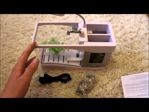 Usb fish tank review can it house live fish definitely for Fish tank review
