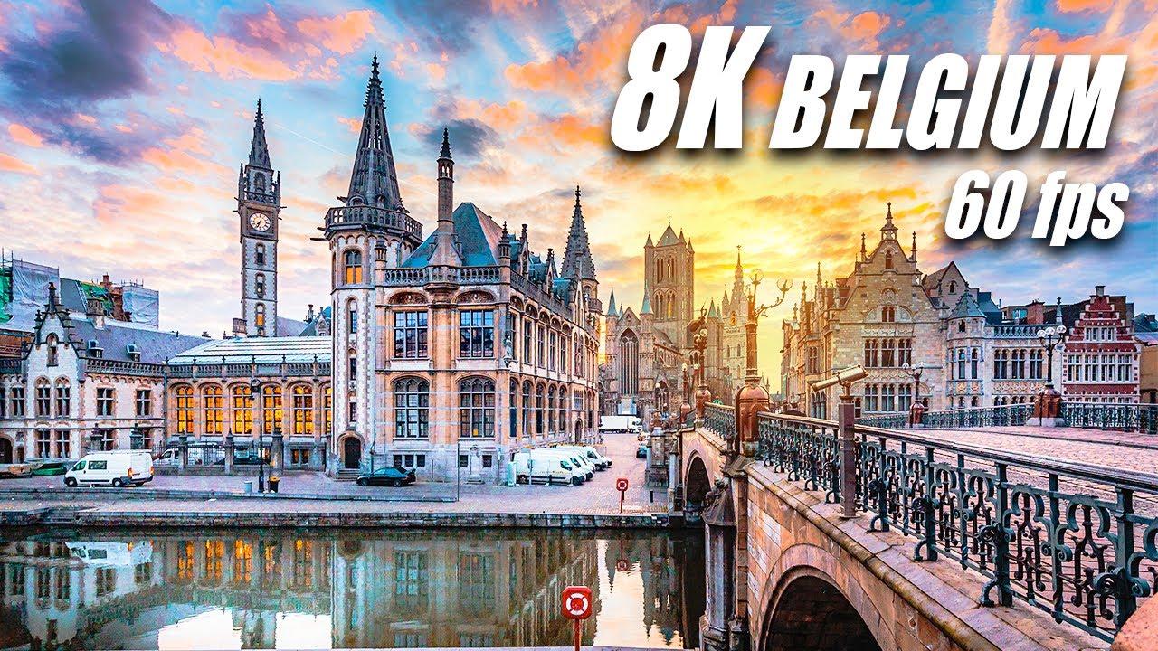 The Beauty of Belgium 8K HDR 60FPS DEMO