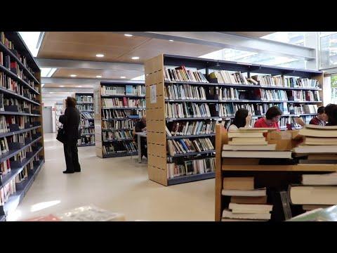 VÍDEO: Protestas de estudiantes por el cierre de la Biblioteca Municipal durante las tardes en Navidad
