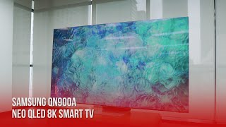Samsung QN900A Neo QLED 8K Smart TV: Bold and Beautiful