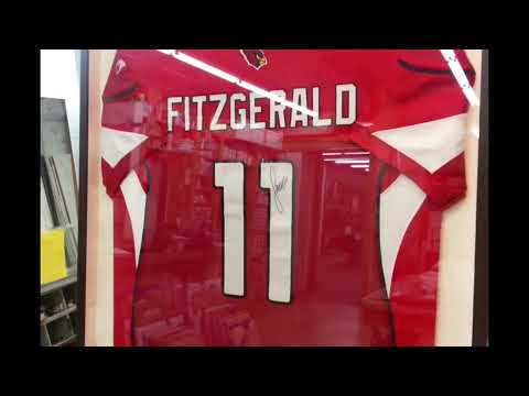 How To Frame A Sports Jersey