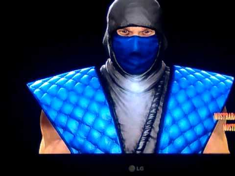 mk 9 classic sub zero costume youtube. Black Bedroom Furniture Sets. Home Design Ideas