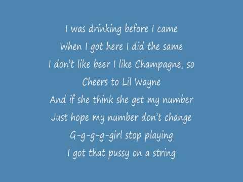 Lil Wayne - I Got No Ceilings (Lyrics)(No Ceilings)