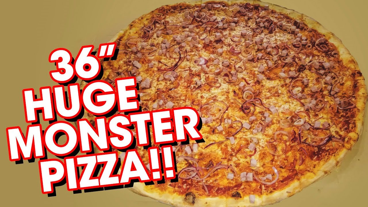 """Download 36"""" MONSTER PIZZA CHALLENGE W/ NATHAN FIGUEROA!!"""