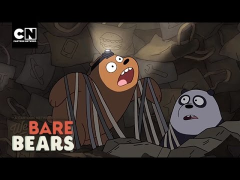 Buried In Bags I We Bare Bears I Cartoon Network