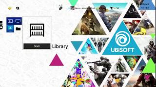Ubisoft 2017 Free PS4 Theme