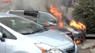 Vehicle Fire (San Diego)