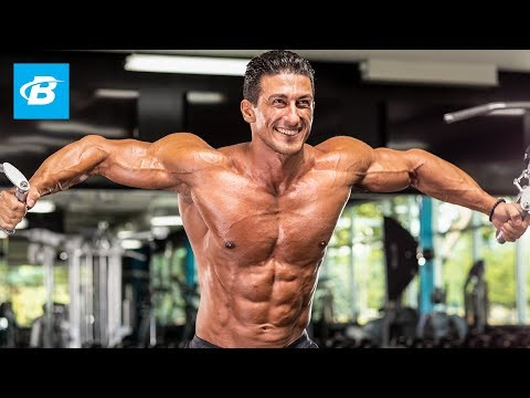 Download Youtube: Sadik Hadzovic's Chiseled Chest Workout | IFBB Pro