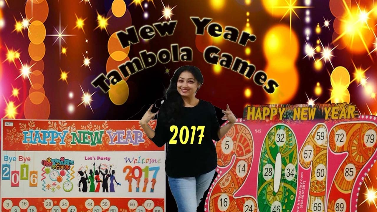 new year kitty party tambola game tickets