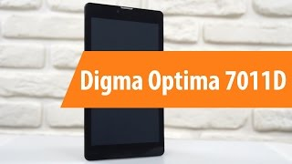 Распаковка Digma Optima 7011D / Unboxing Digma Optima 7011D