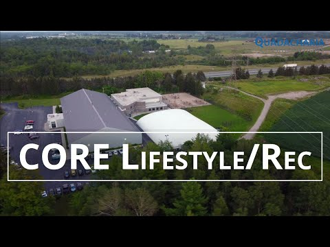 CORE Lifestyle & Recreation Complex - 401 New Dundee Rd, Kitchener, ON N2P 2N8 | 4K drone