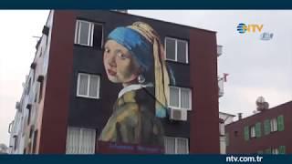 Mersin sokaklarında ''İnci Küpeli Kız''