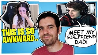 CLIX INTRODUCES HIS DAD TO SOMMER! *CRINGE & FUNNY*