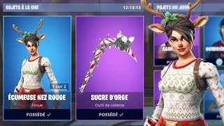 THE RETURN OF THE SKINS OF NOEL AND PIOCHE SUCRE OF ORGE on FORTNITE BATTLE ROYALE...