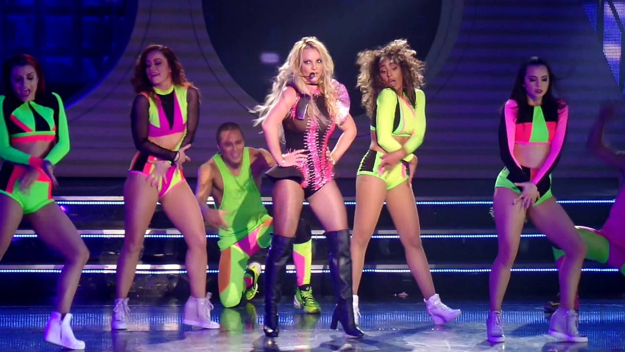Britney Spears Pretty Girls - Las Vegas