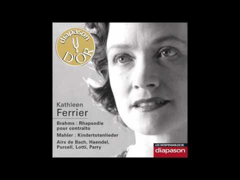 Kathleen Ferrier, Orchestre du Concertgebouw d'Amsterdam, Otto Klemperer - Kindertotenlieder, 5 song