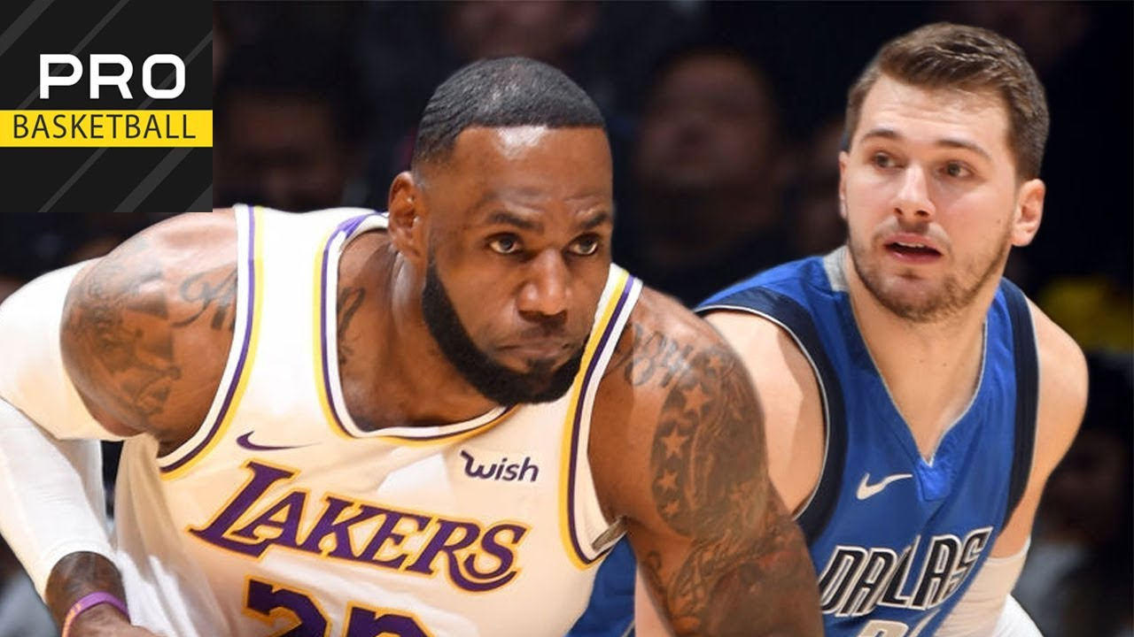 Los Angeles Lakers vs Dallas Mavericks | Dec. 29, 2019 ...