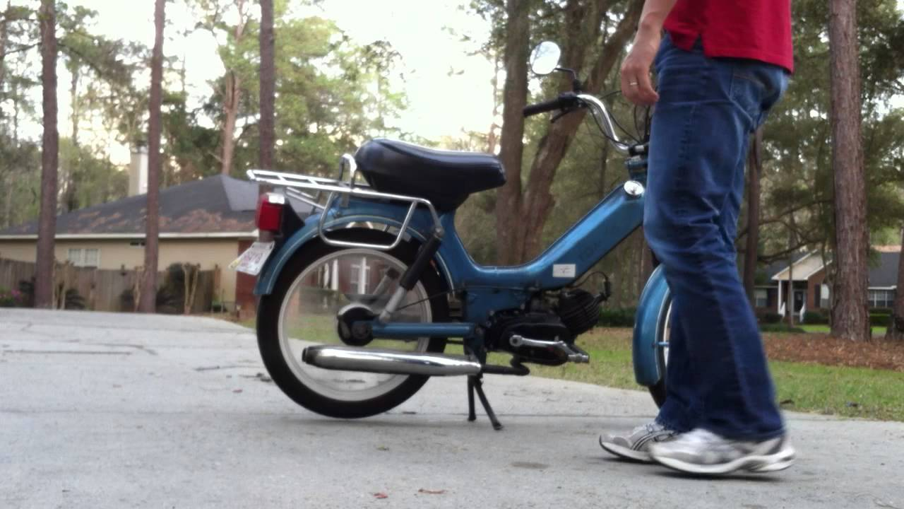 1980's Tomos Bullet Moped