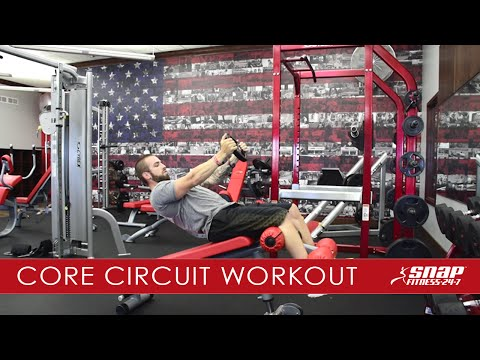 Train With SNAP: Core Circuit Workout